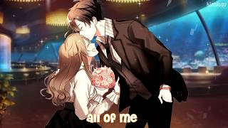 Nightcore - All Of Me (Switching Vocals)