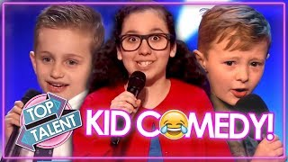 FUNNIEST KID COMEDIANS EVER... On Got Talent | TRY NOT TO LAUGH!