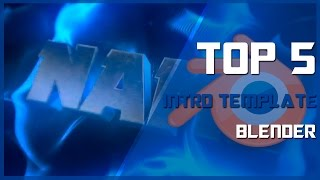 NEW! Top 5 Intro Templates #69[Blender]
