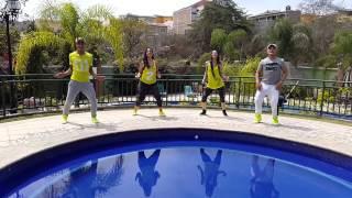 """ZUMBA """"Tippy Toe"""" Dj Francis ft El Chevo"""