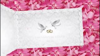 Video  WHATSAPP  Wedding Invitation & Save The Date- code = WAV001