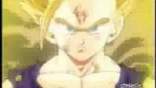cancion triste de dragon ball z