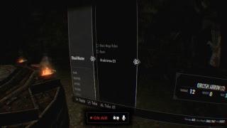 Lets Play Skyrim VR | PS4 Pro | PSVR | Part 14
