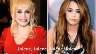 Miley Cyrus feat Dolly Parton - Jolene Tlumacz pl