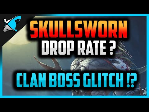 Skullsworn Drop Rate is... !? | Clan Boss Glitch ? | RAID: Shadow Legends