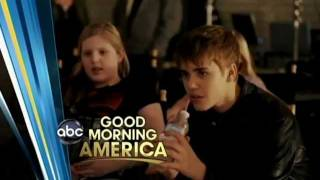 Justin Bieber & Rascal Flatts - Behind The Scenes of 'That Should Be Me' music video