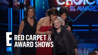 "The People's Choice for Favorite TV Cable Comedy is ""Hot in Cleveland"""