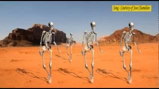 Skeletons dance to badilisha by Chameleon