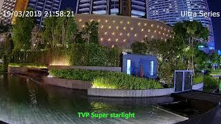 ภาพ Low light จากกล้อง Tiandy รุ่น TC-C32LG Super Starlight