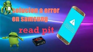 Solución a error en samsung [An error has occurred while updating]