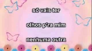 Floribella Portuguesa - Olhos pra min (Karaoke)