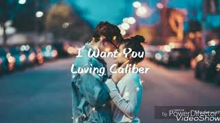 I Want You - Loving Caliber [ Lyrics / lyric video ]