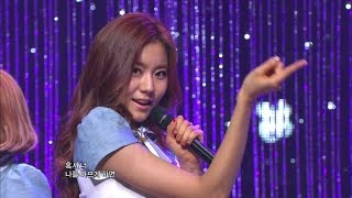 【TVPP】After School - Shampoo, 애프터스쿨 - 샴푸 @ Comeback Stage, Show Music Core Live