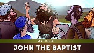 Sunday School Lesson for Children - John the Baptist - Matthew 3 - Bible Teaching Stories for VBS