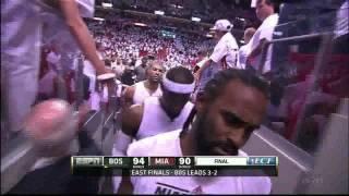 "Kid Tells Miami Heat ""Good Job! Good Effort!"" after Game 5 Loss to Boston Celtics"
