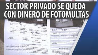 Sector Privado se Queda con Gran Porcentaje de Fotomultas / Jul 13-2015 / Cosmovision Noticias