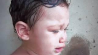 Fernandinho chorando