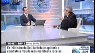 """RTP1, """"Novas regras nas prestações sociais/ Ferro Rodrigues"""""""
