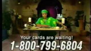 Cleo the psychic commercial
