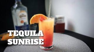 Como Fazer Tequila Sunrise (Eagles) | E Tome Drink!