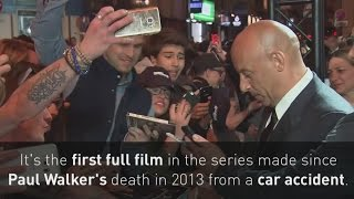 Vin Diesel pays tribute to Paul Walker at Fast 8 premiere