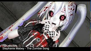 [MMD]Stephanie Mabey - The Zombie Song (TDA Doll Miku)