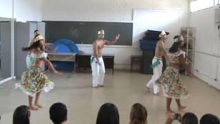Aula dança UFAL 2011 -  3º Período - MARACATU