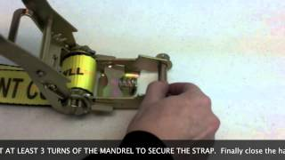 How To Thread A Ratchet Strap