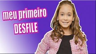 Meu Primeiro DESFILE :: Dia de Princesa!! Modelo Mirim