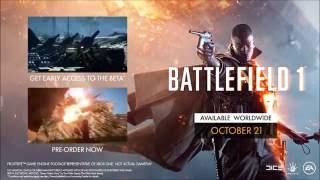 Battlefield 1 Trailer The Price of a Mile