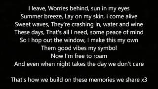 Kings Of Summer - By: ayokay (Feat. Quinn XCII) (Lyrics) (Single Version)