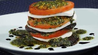 Watch Roasted Portobello Mushroom Napolean