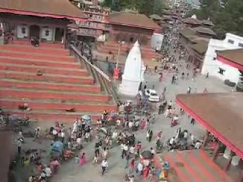 Hanuman Dhoka Temple place in Kathmandu, Nepal