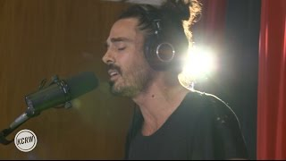 "Local Natives performing ""Fountain Of Youth"" Live on KCRW"