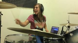 Are you gonna be my girl- Jet. Drum cover by Leire Colomo