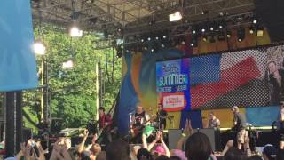 Green Day - Youngblood @ GMA Summer Stage NYC