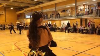 Tarjei Svalastog-Mathea Årestrup Øen. Chacha, 1/2 finale. Norgesserie 1, 2016