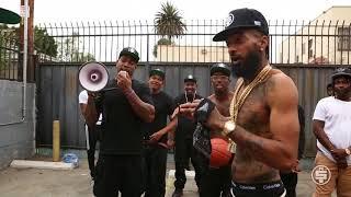Nipsey Hussle - Rap Niggas  (Behind The Scenes)