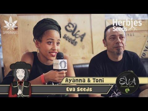Eva Seeds @ Spannabis 2014 Barcelona