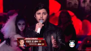 Renato Vianna canta 'Who Wants to Live Forever' no The Voice Brasil