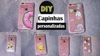 DIY: Capinhas de celular personalizadas | Gastando pouco $
