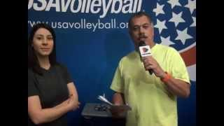 Somos TV - Abierto de Volleyball Phoenix 2014
