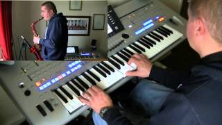 Only You by The Platters -Cover- played on Alto Sax and Yamaha Tyros 4