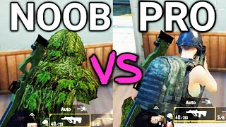 How To Become A Pro Player In PUBG Mobile | Noob Vs Pro | PUBG Mobile Tips And Tricks