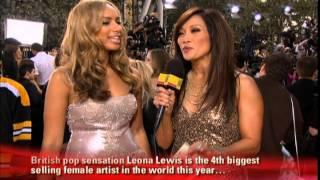 AMA 2008 Leona Lewis Red Carpet Interview