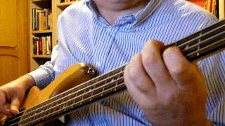 Barry White You're The First My Last My Everything Bass Cover