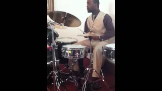 Drum solo Inside Out Gospel song part 3 of 3 Finale