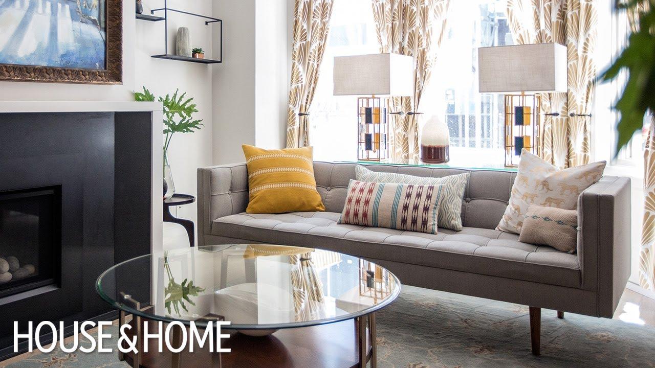 Interior Design — Colorful Small Home Makeover