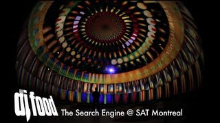 DJ Food - 'The Search Engine' Live at SAT, Montreal July 2012