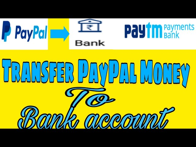 Download thumbnail for PayPal to paytm money transfer
